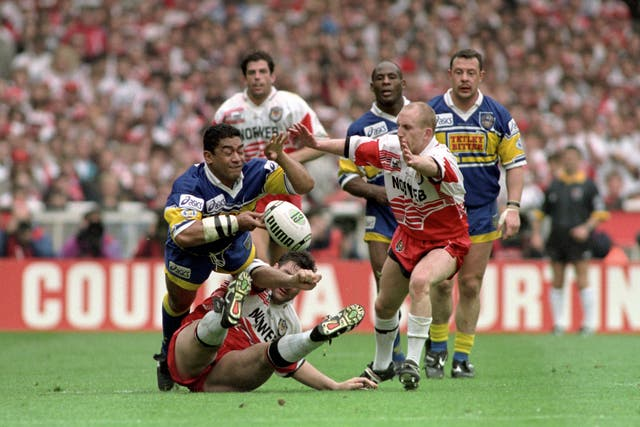 Rugby League – Silk Cut Challenge Cup Final – Wigan v Leeds – Wembley Stadium