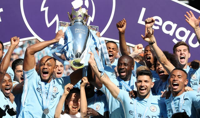 City's outstanding 2017-18 campaign has seen them installed as Champions League favourites