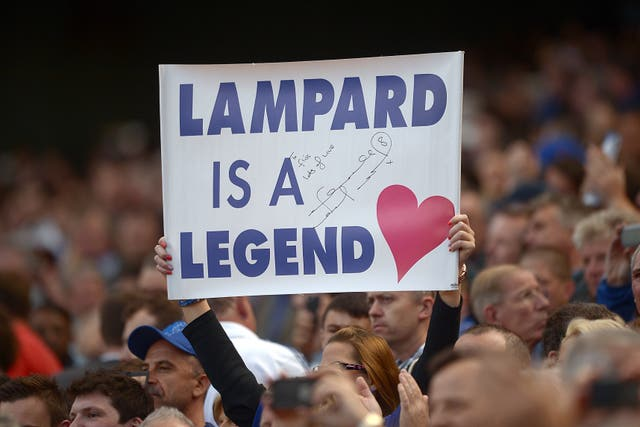 Frank Lampard remained a favourite at Stamford Bridge despite his time at Manchester City