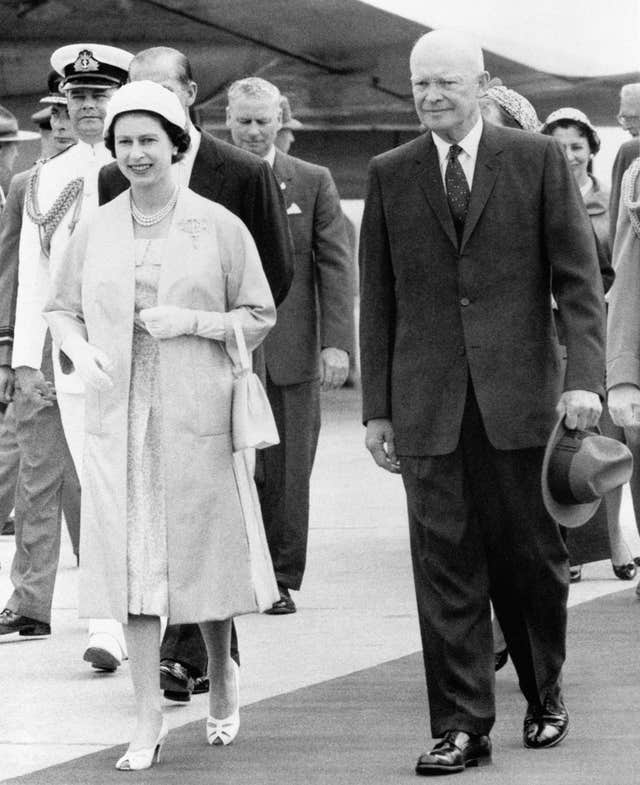 The Queen and Eisenhower
