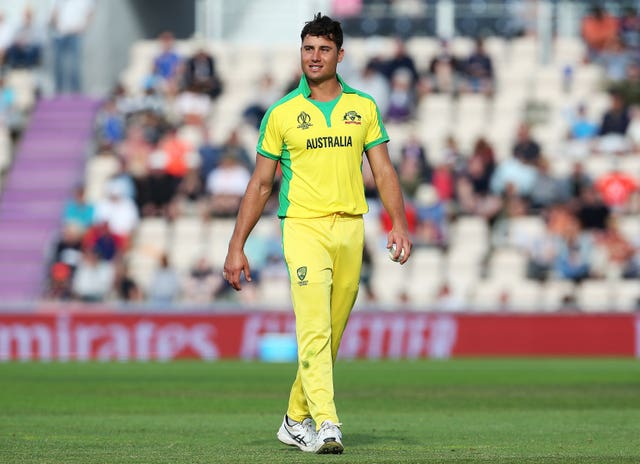 Marcus Stoinis could return for Australia following a side strain (Mark Kerton/PA)