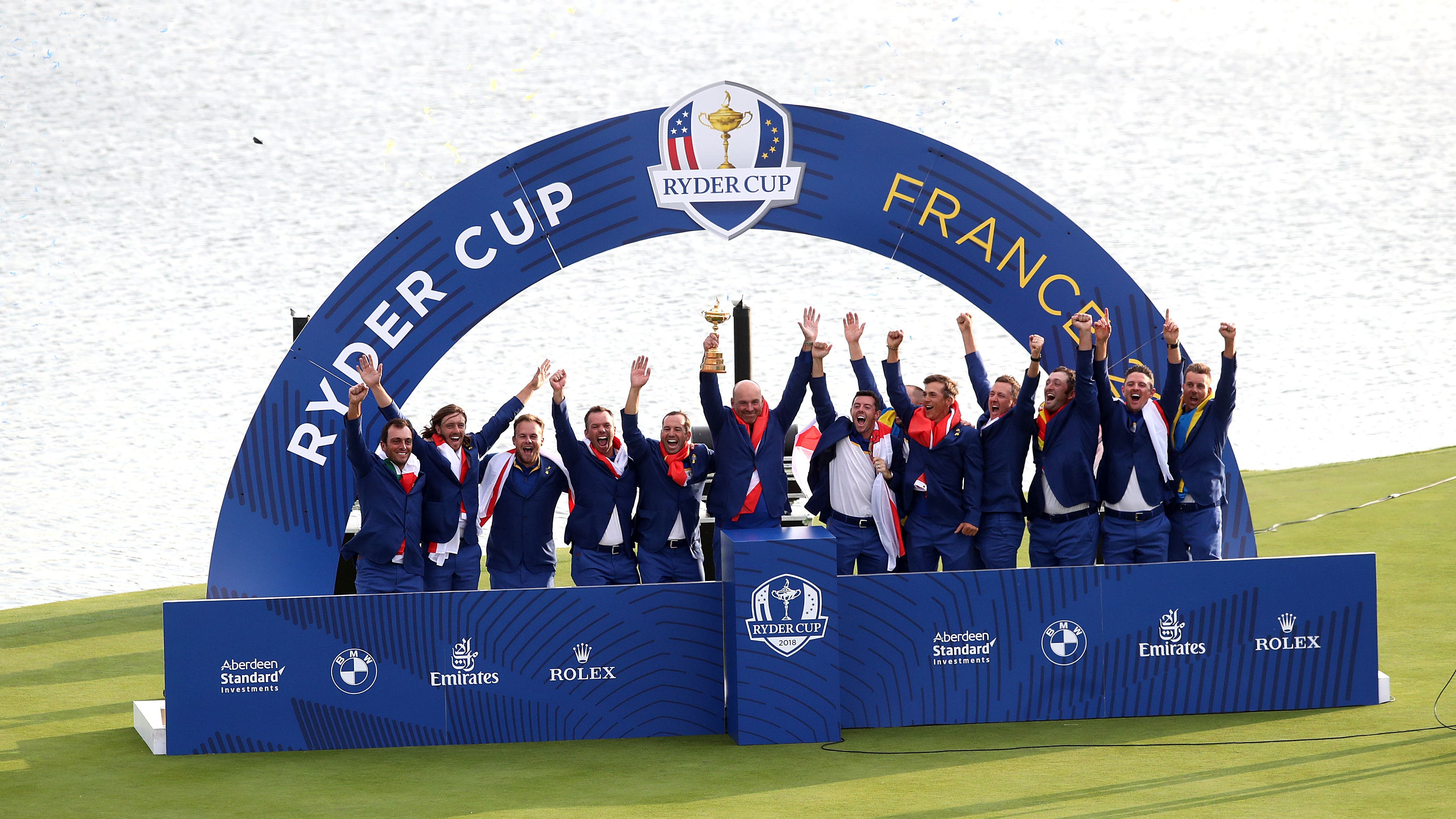 Team Europe have been reacting