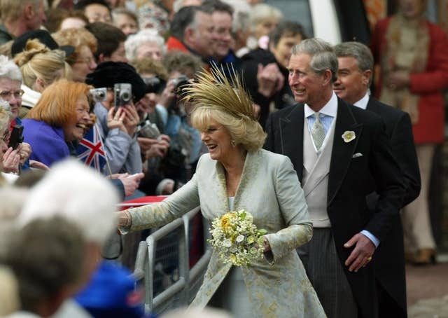 Royal Wedding – Marriage of Prince Charles and Camilla Parker Bowles – Service of Prayer and Dedication – St George's Chapel