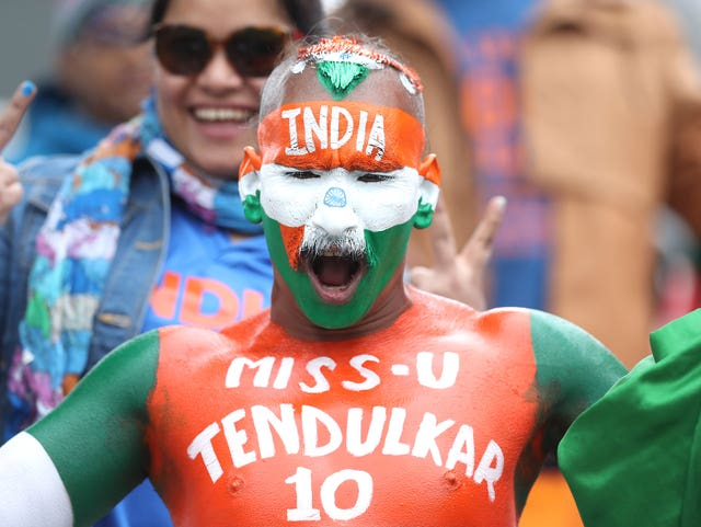 A fanatical India supporter