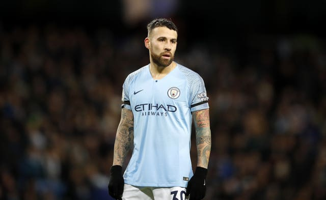 Nicolas Otamendi was frustrated by VAR