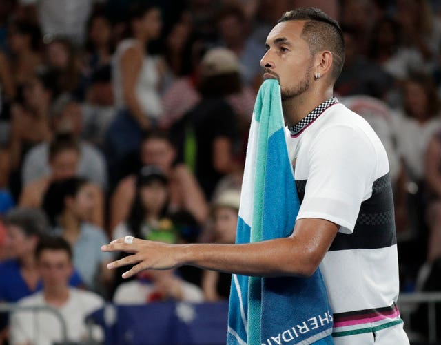 Nick Kyrgios has taken swipes at Hewitt on social media