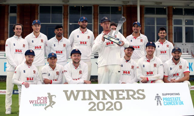 Essex were celebrating a third red-ball title in four years