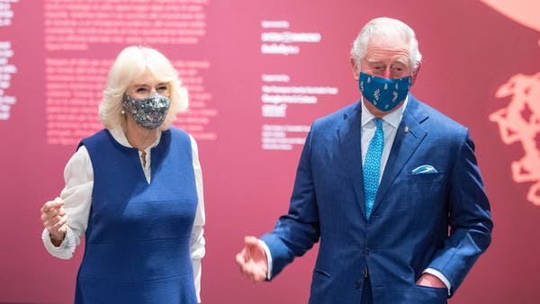 Charles and Camilla tour reopened National Gallery