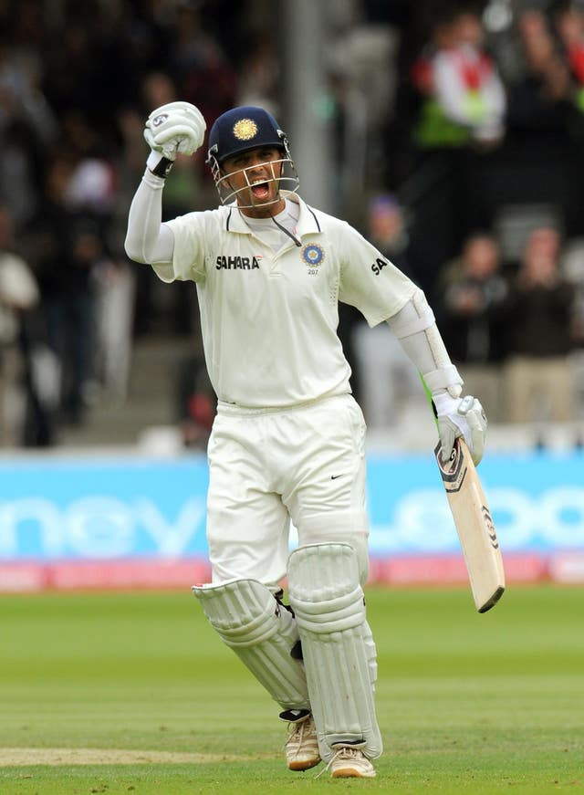 Rahul Dravid is the second Indian in the top five (Anthony Devlin/PA)