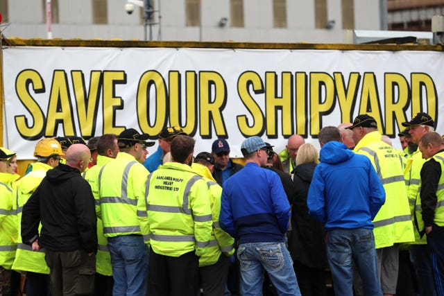 New contract gives hope to shipyard