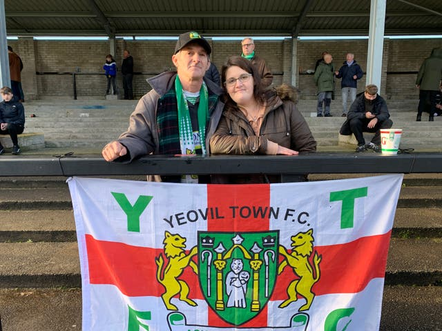 Yeovil supporter Paul Mayston and daughter Colette believe the club will recover