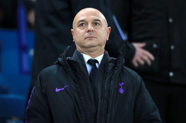 Tottenham chairman Daniel Levy is under intense pressure