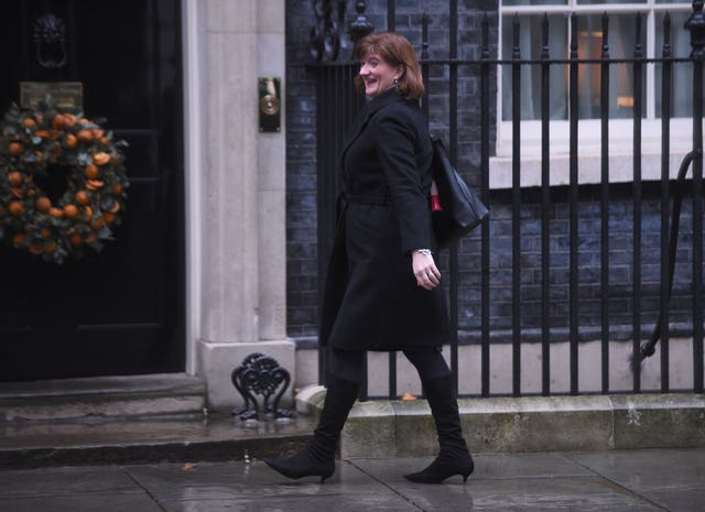 Digital, Culture, Media and Sport Secretary Nicky Morgan arriving in Downing Street