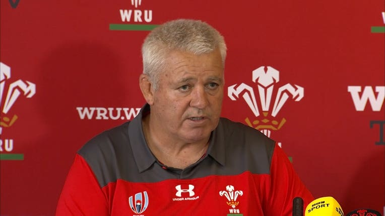 Wales head coach Warren Gatland