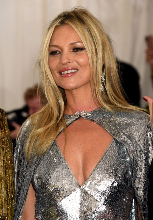 Kate Moss is on the list
