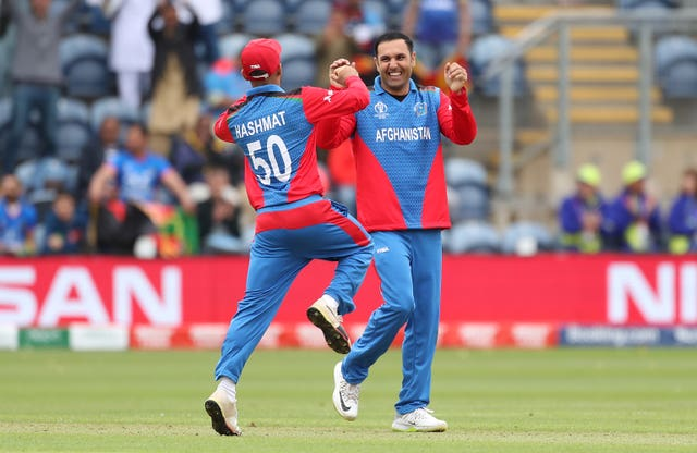 Mohammad Nabi took four wickets against Sri Lanka but he, Rashid Khan and Mujeeb Ur Rahman have flattered to deceive so far (David Davies/PA)