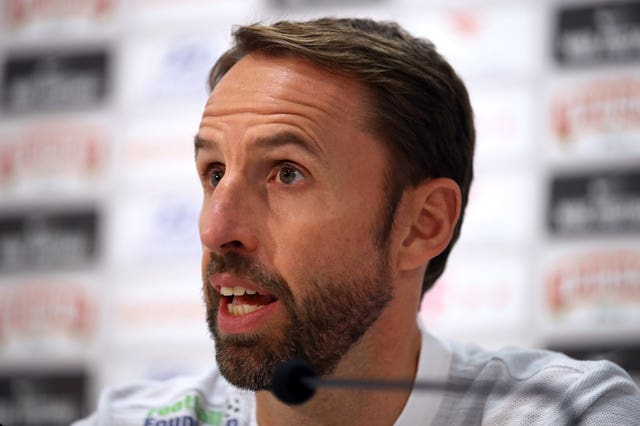 Gareth Southgate paid tribute to Doug Ellis during his press conference before England's game against Croatia