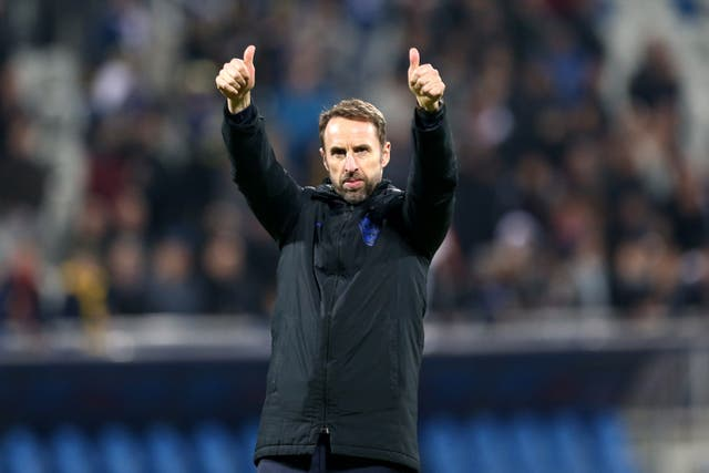 England manager Gareth Southgate will discover his side's Euro 2020 finals opponents on Saturday