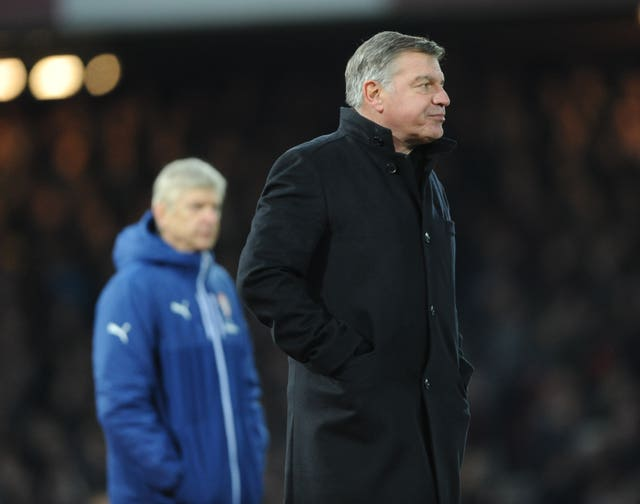 Sam Allardyce had plenty of memorable battles with Arsenal when they were under the stewardship of Arsene Wenger