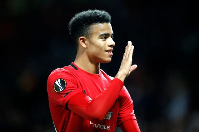 Mason Greenwood has scored United's last two goals