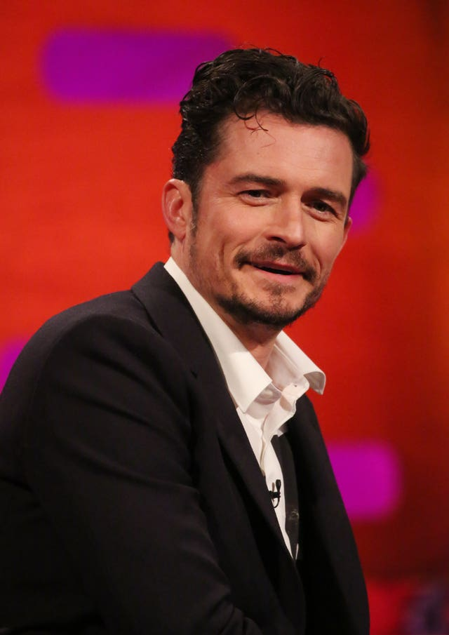 Orlando Bloom on The Graham Norton Show.