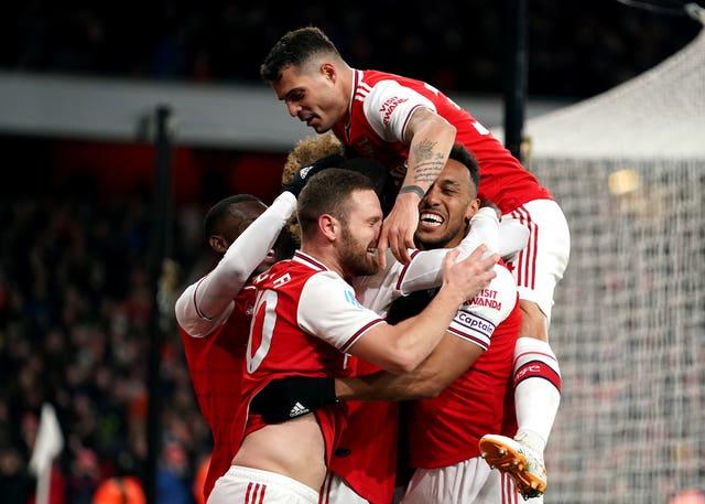 Arsenal are unbeaten in 2020