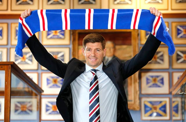 Another former Premier League star, Steven Gerrard, was recently appointed as Rangers boss.