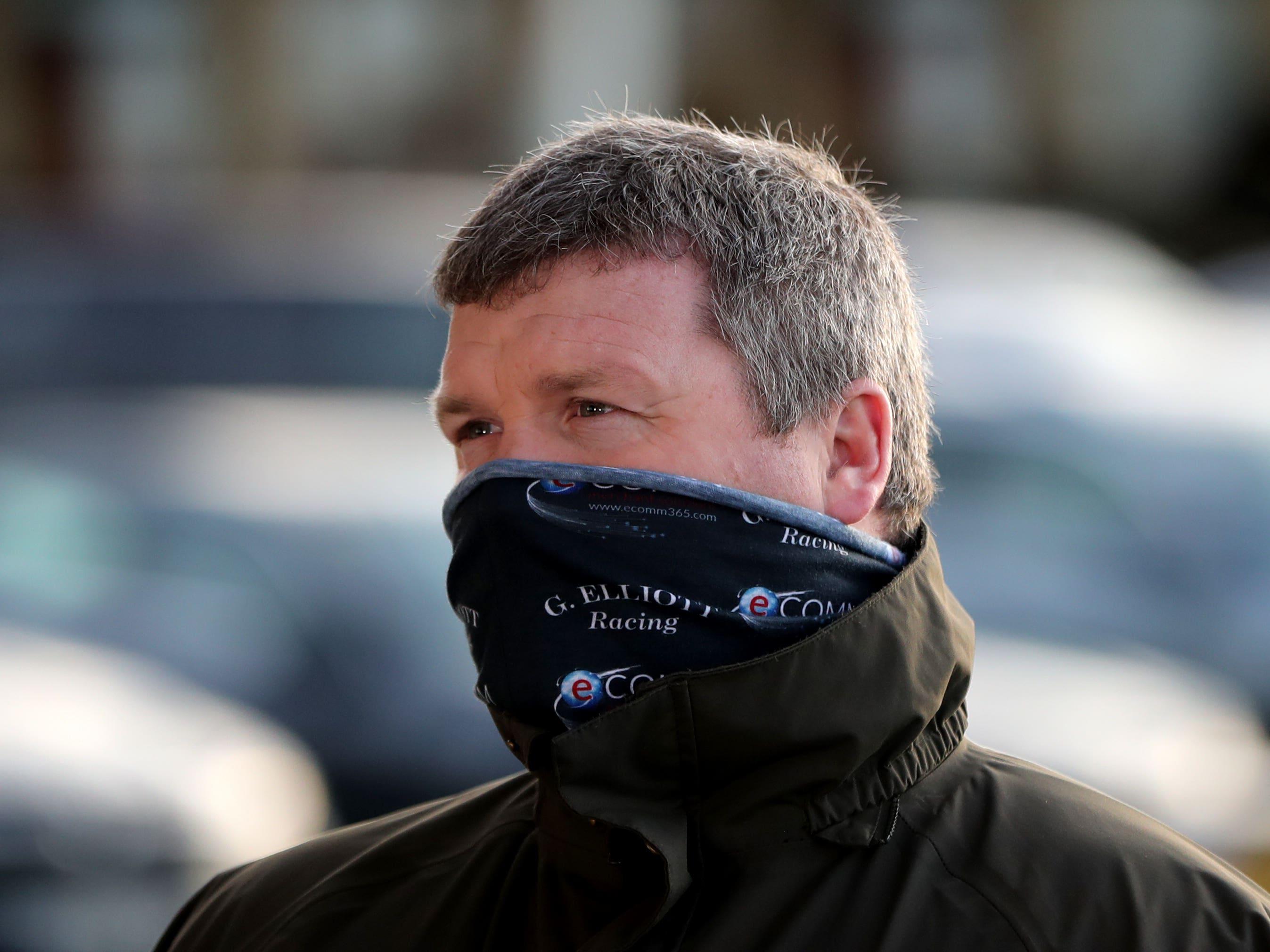Gordon Elliott at Navan racecourse (Niall Carson/PA)