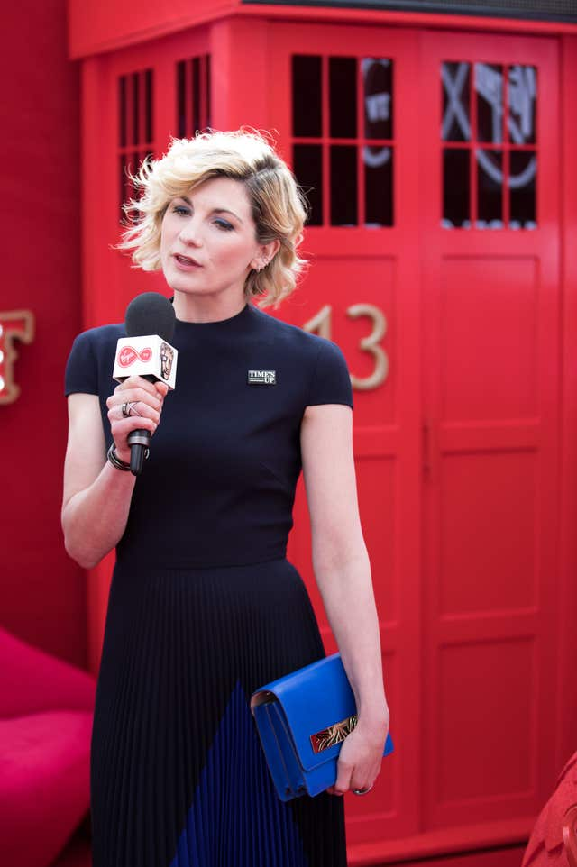 Jodie Whittaker is the first woman to play The Doctor.