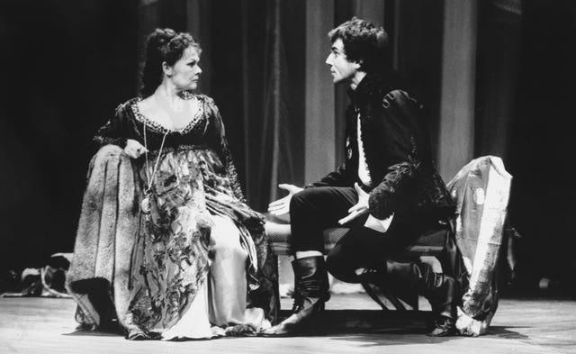 Theatre – Hamlet – Judi Dench and Daniel Day-Lewis – Olivier Theatre, London