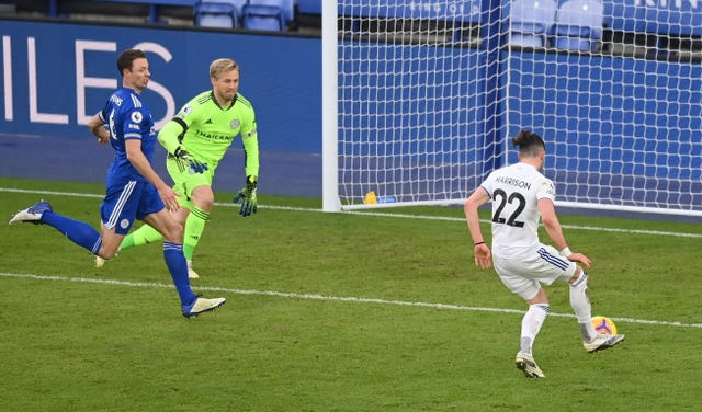 Jack Harrison's tap-in clinched the points for Leeds