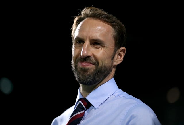 England manager Gareth Southgate watches on as his side fail to make a breakthrough
