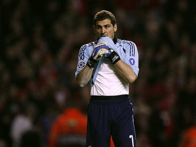 Former Real Madrid goalkeeper Iker Casillas. (PA)