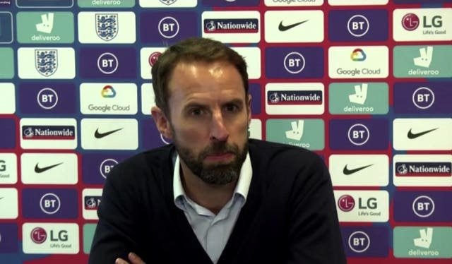 Gareth Southgate believes a message needed to be sent