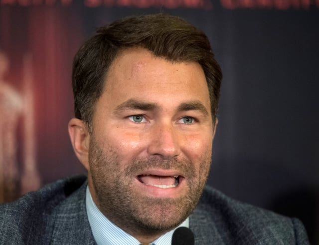 Eddie Hearn works as promoter for Khan and Brook