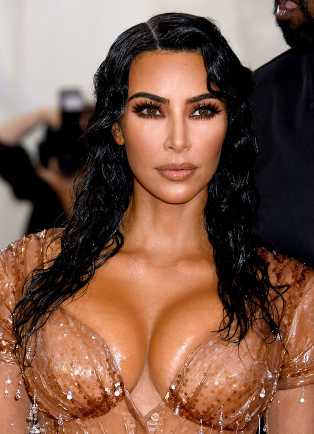 Kim Kardashian West at the Met gala