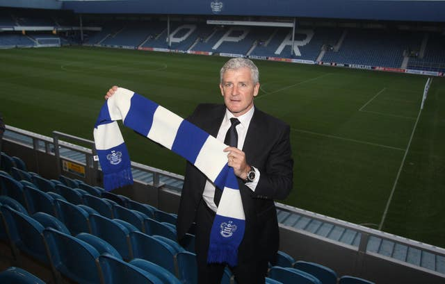 Mark Hughes' next stop was QPR