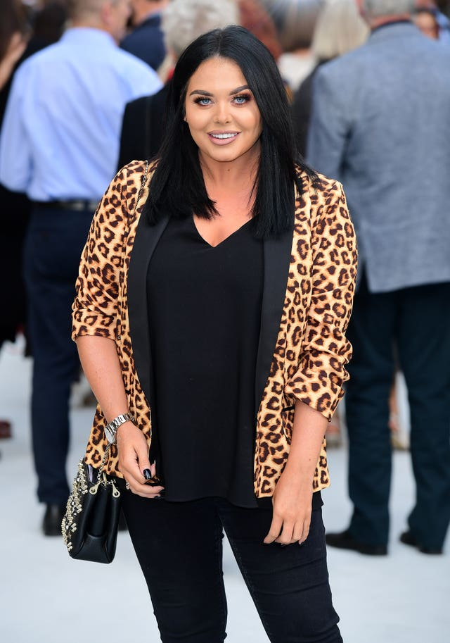 Scarlett Moffatt  on the red carpet