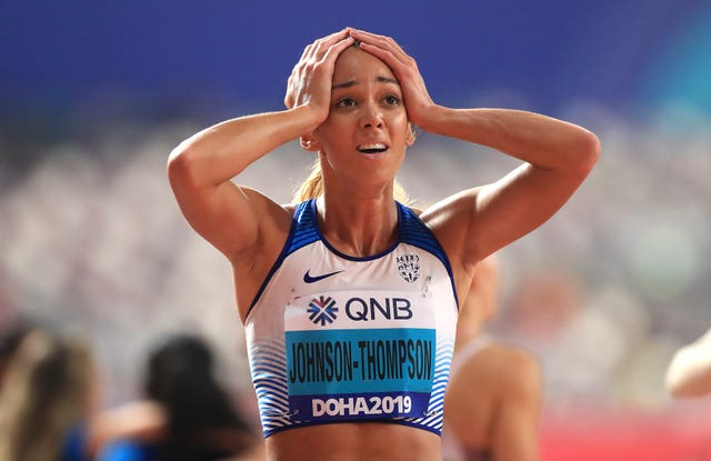 Katarina Johnson-Thompson set a new British record