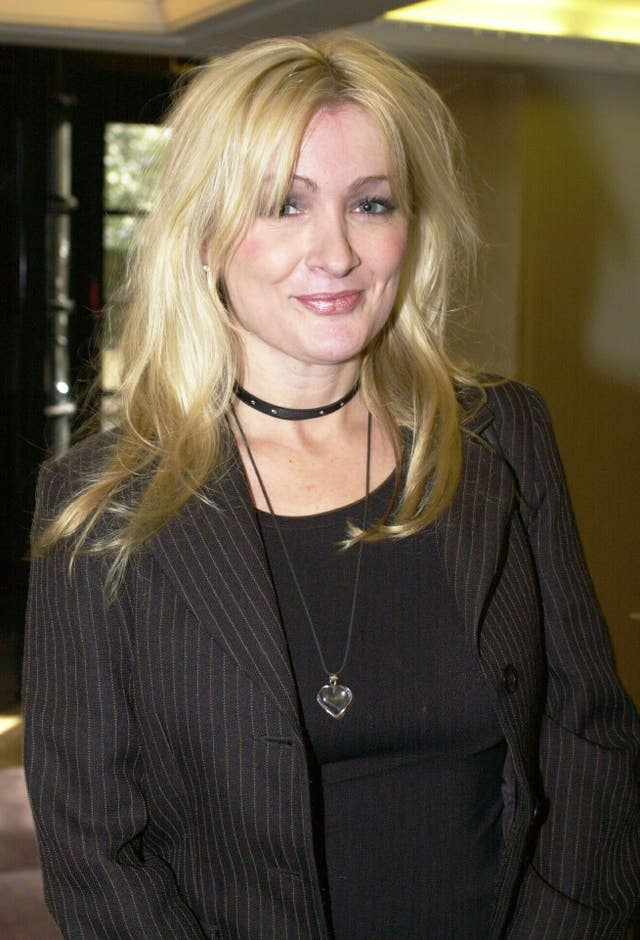 Actress and comedian Caroline Aherne (Fiona Hanson)