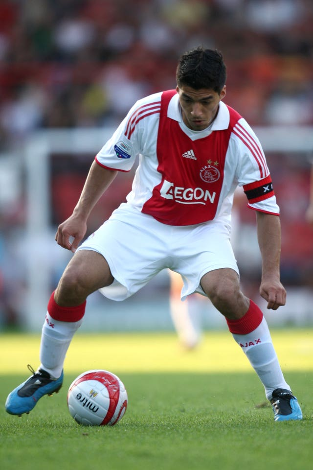Luis Suarez during his Ajax career