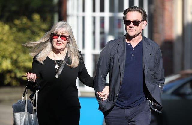 John Michie and wife Carol Fletcher-Michie