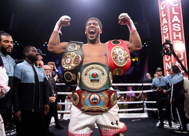 Anthony Joshua's world heavyweight title bout in December took place in Saudi Arabia