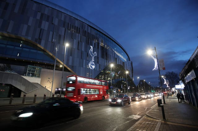 Tottenham's game with Fulham was postponed at short notice on December 30