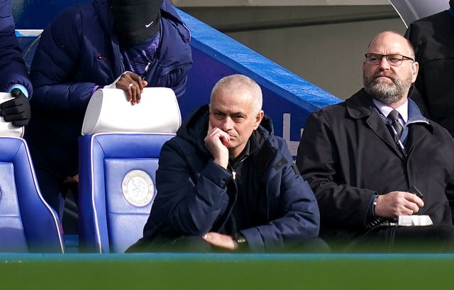 Jose Mourinho saw his side lose at Chelsea last time out