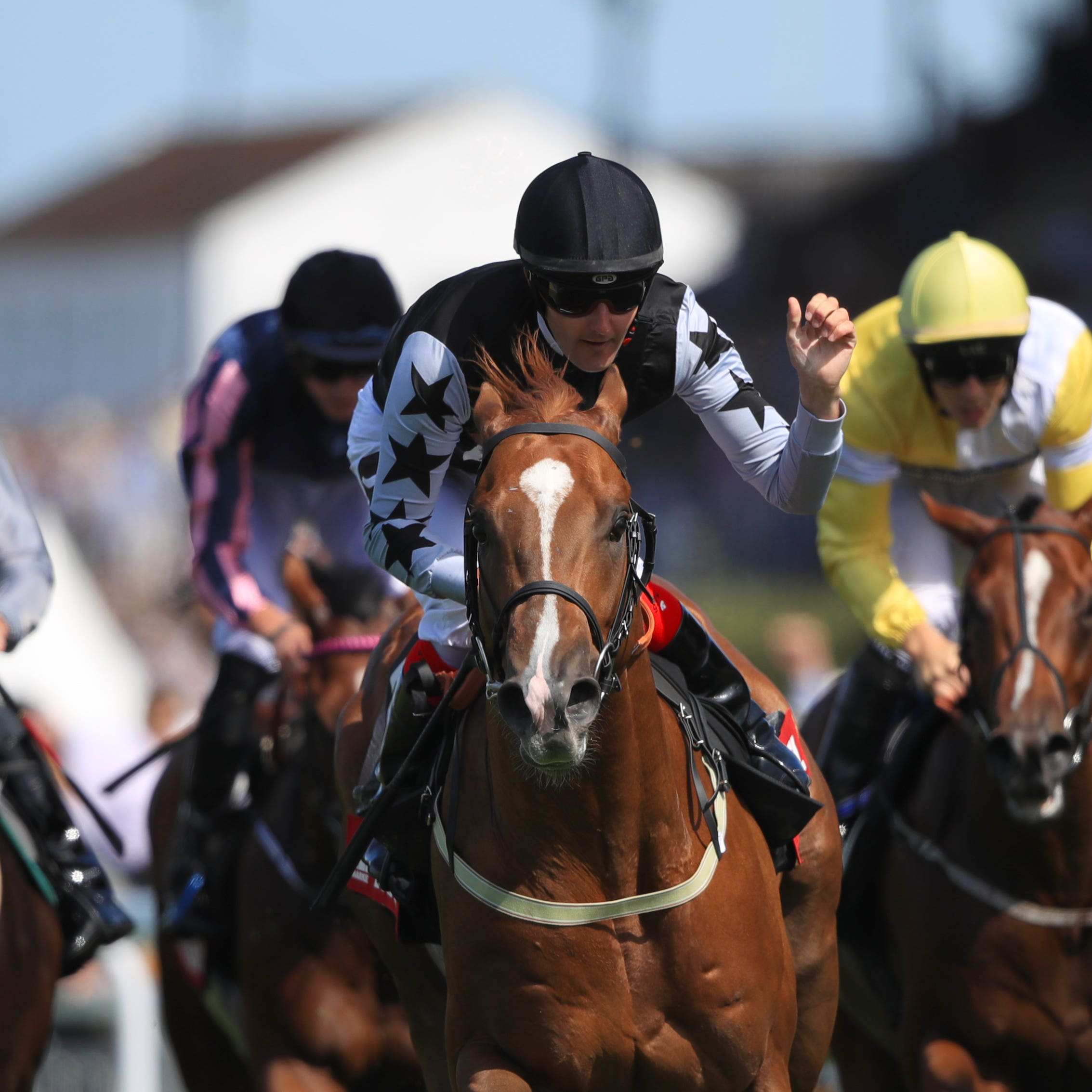Rumble Inthejungle enjoyed his finest hour at Goodwood
