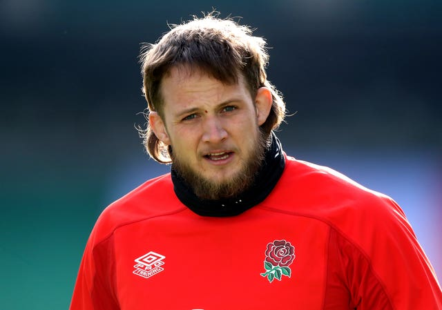 Jonny Hill has established himself in England's second row