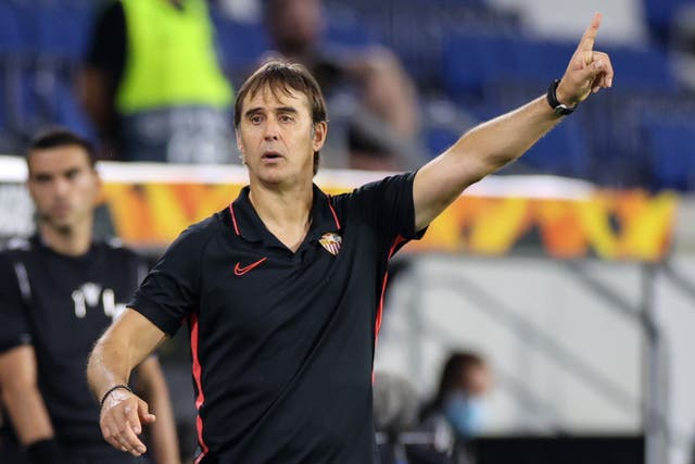 Julen Lopetegui hopes to secure a sixth Europa League title for Sevilla