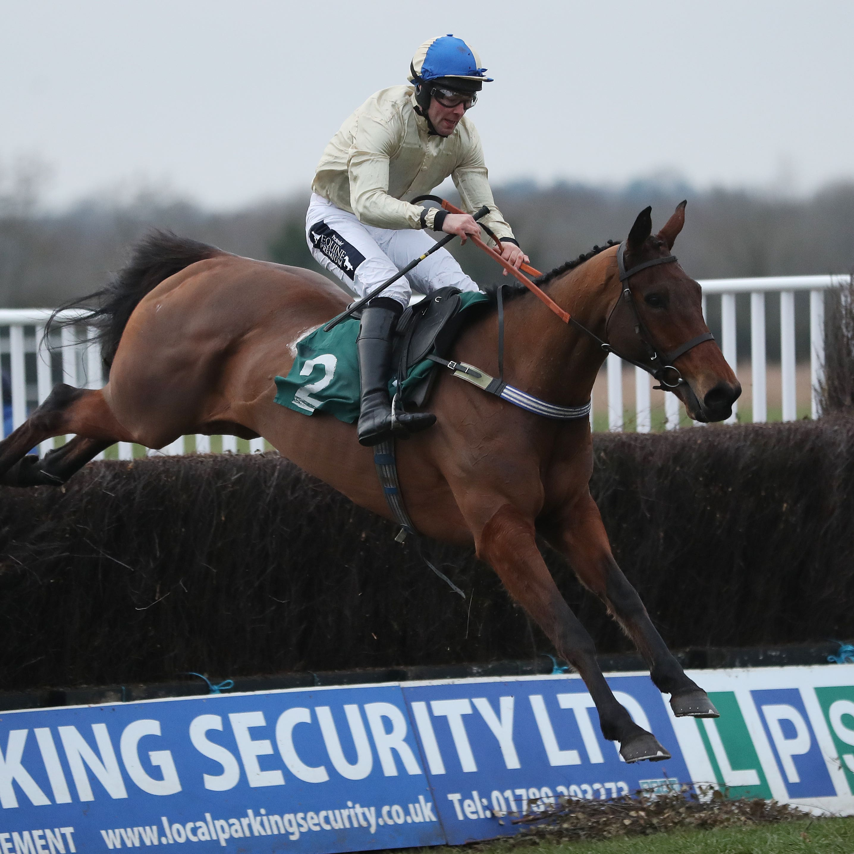 Hazel Hill is set to head straight to the St James's Place Foxhunter Chase at the Cheltenham Festival
