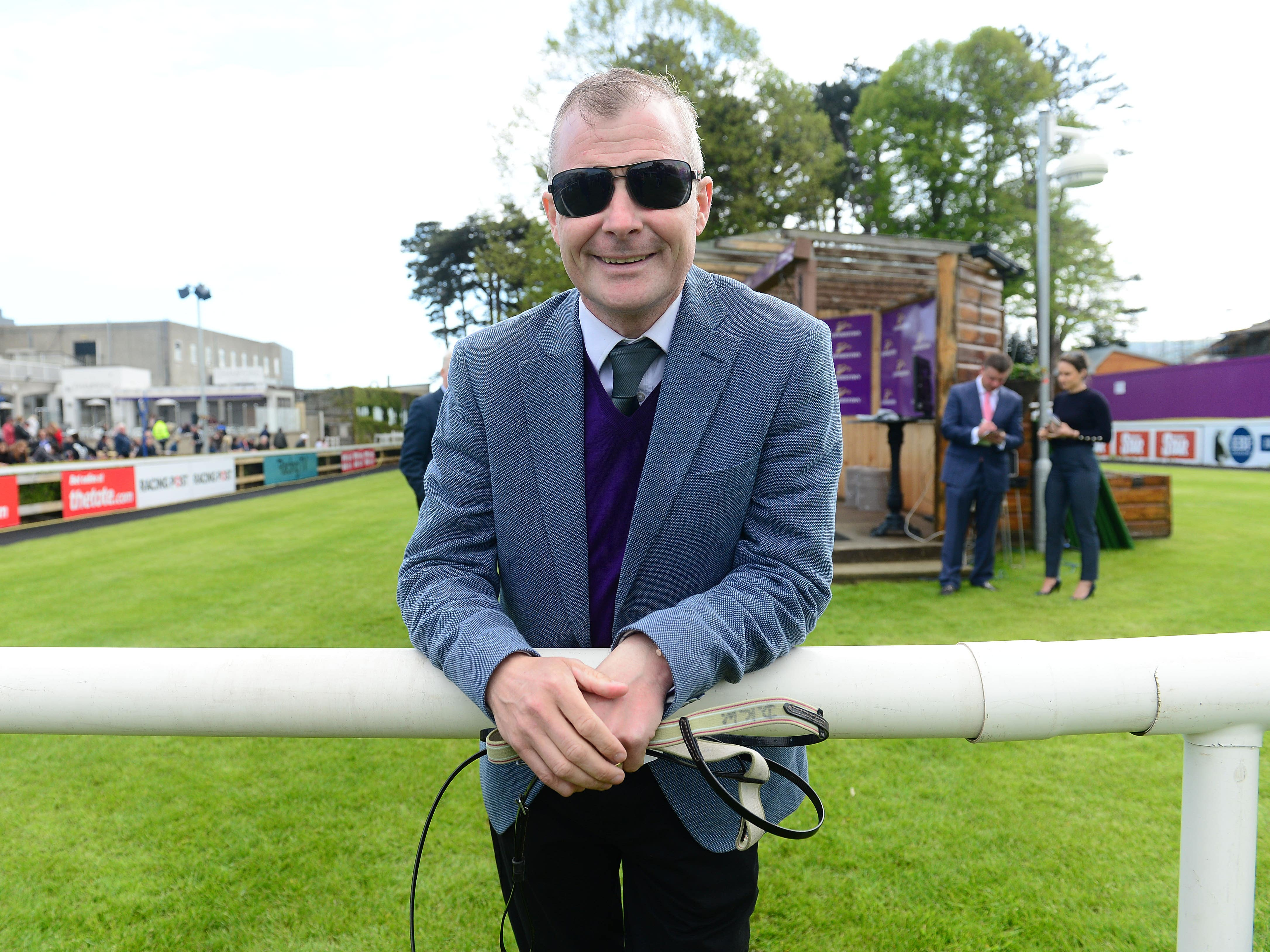 Pat Smullen will ride in a charity race at the Curragh in September (PA)